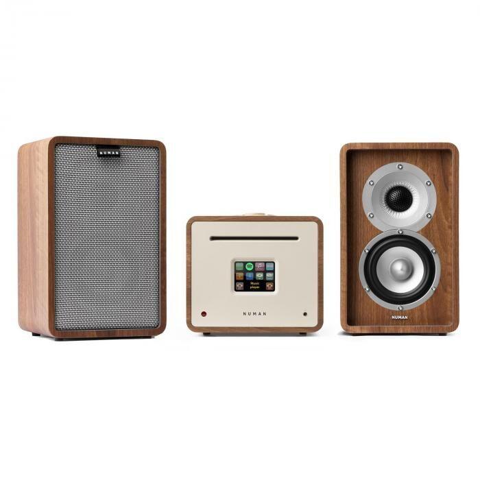 Numan Unison Retrospective 1979S Edition – Equipo de música Amplificador Altavoces + Tapa (PL-246-947-950)