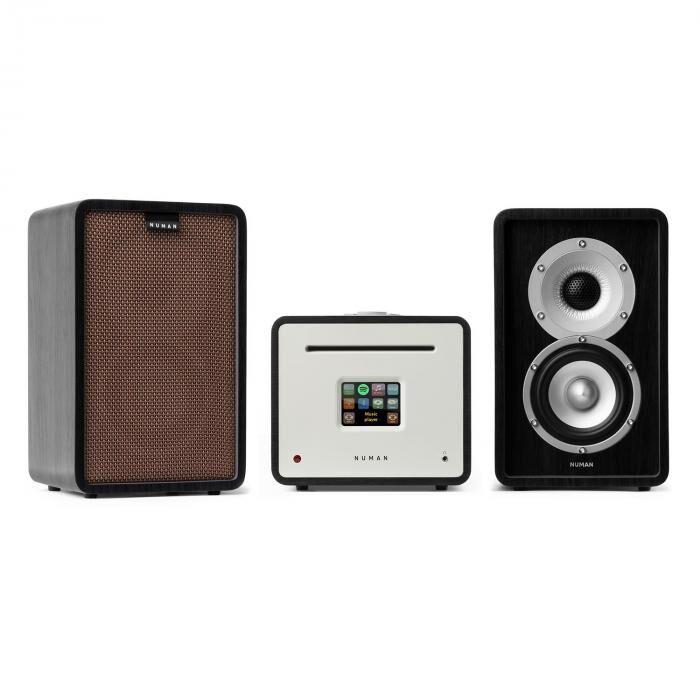 Numan Unison Retrospective 1979S Edition – Equipo de música Amplificador Altavoces + Tapa (PL-244-948-951)