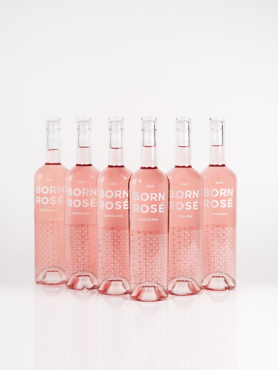 BORN ROS Barcelona 6 botellas de ROS (Orgánico 2020) + posavasos de regalo