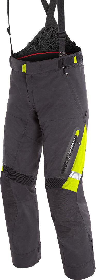 Dainese Gran Turismo GoreTex Pantalones de moto textil Negro Amarillo 56