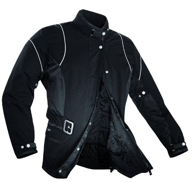 Spidi Kay Las señoras de la motocicleta Chaqueta Textíl Negro 52