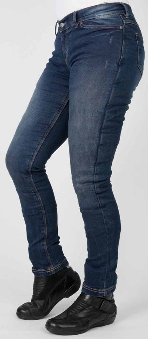 Bull-it Jeans Bull-it SR6 Vintage Straight Pantalones vaqueros de las señoras motos Azul 30