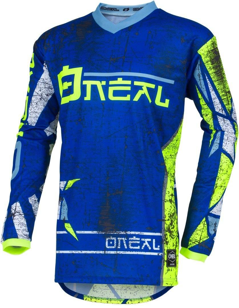 Oneal Element Zen Camiseta de Motocross Azul 2XL