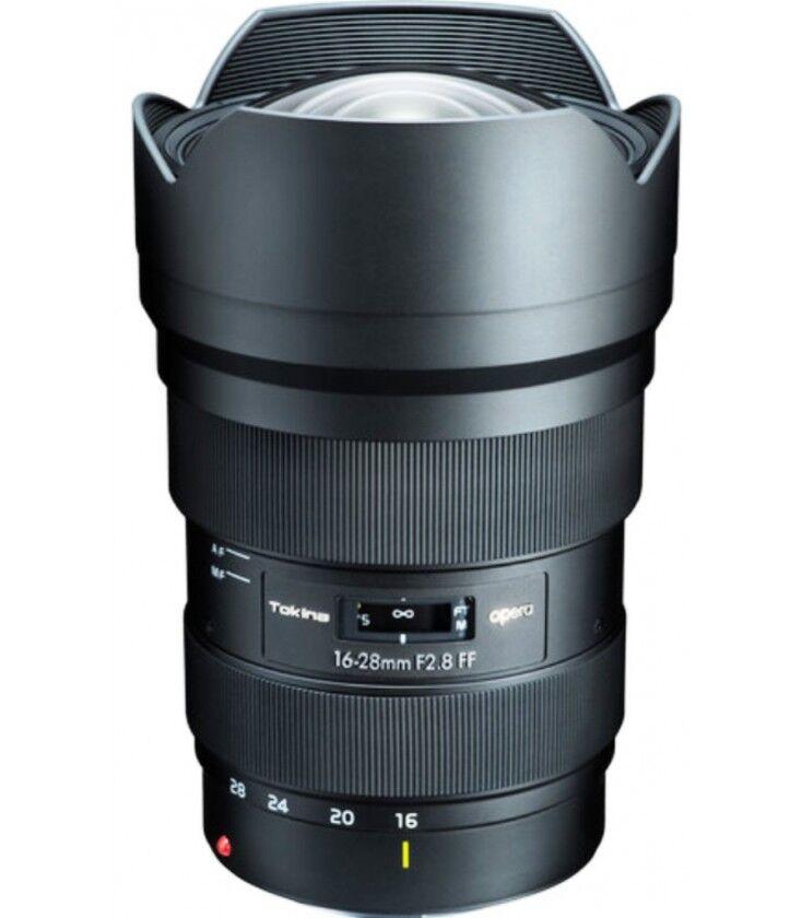 Tokina Opera 16-28 F/2.8 Para Canon