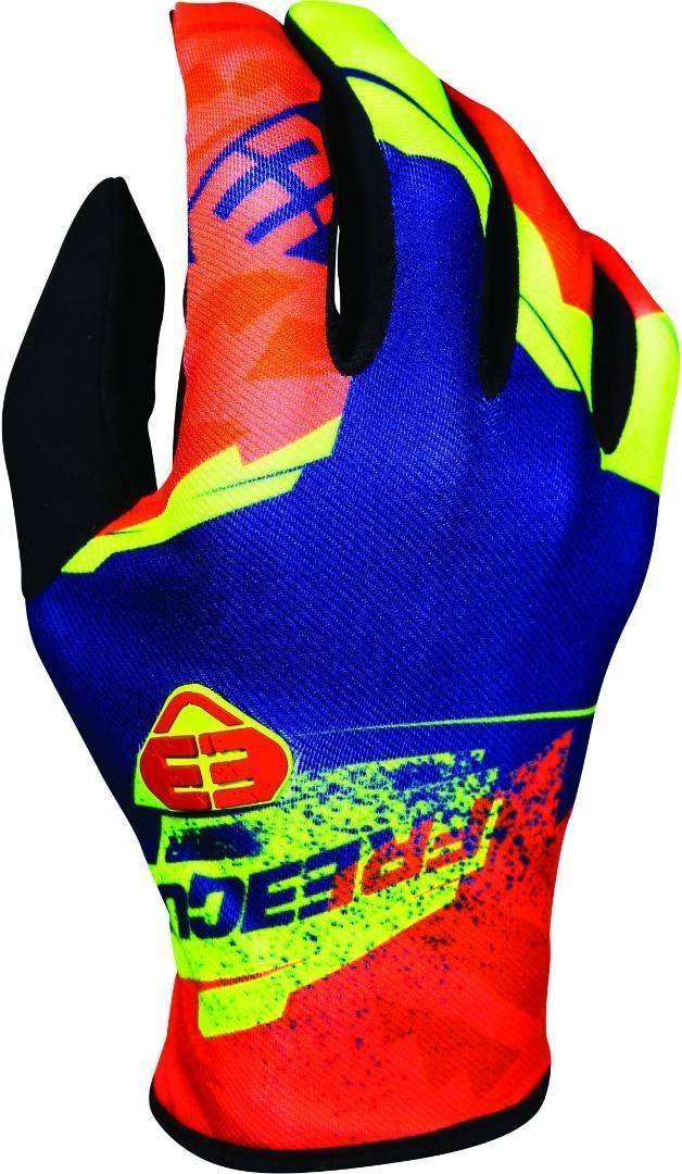 Freegun Devo Hero Guantes de Motocross Kids Amarillo Naranja XL