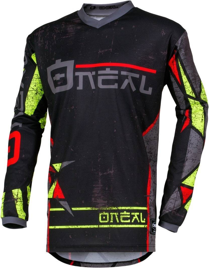 Oneal Element Zen Camiseta de Motocross Amarillo XL