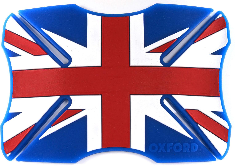Oxford Union Jack Parachoques del casco