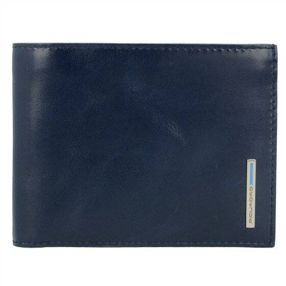 Piquadro Blue Square Porta tarjetas de credito piel 12,5 cm nachtblau