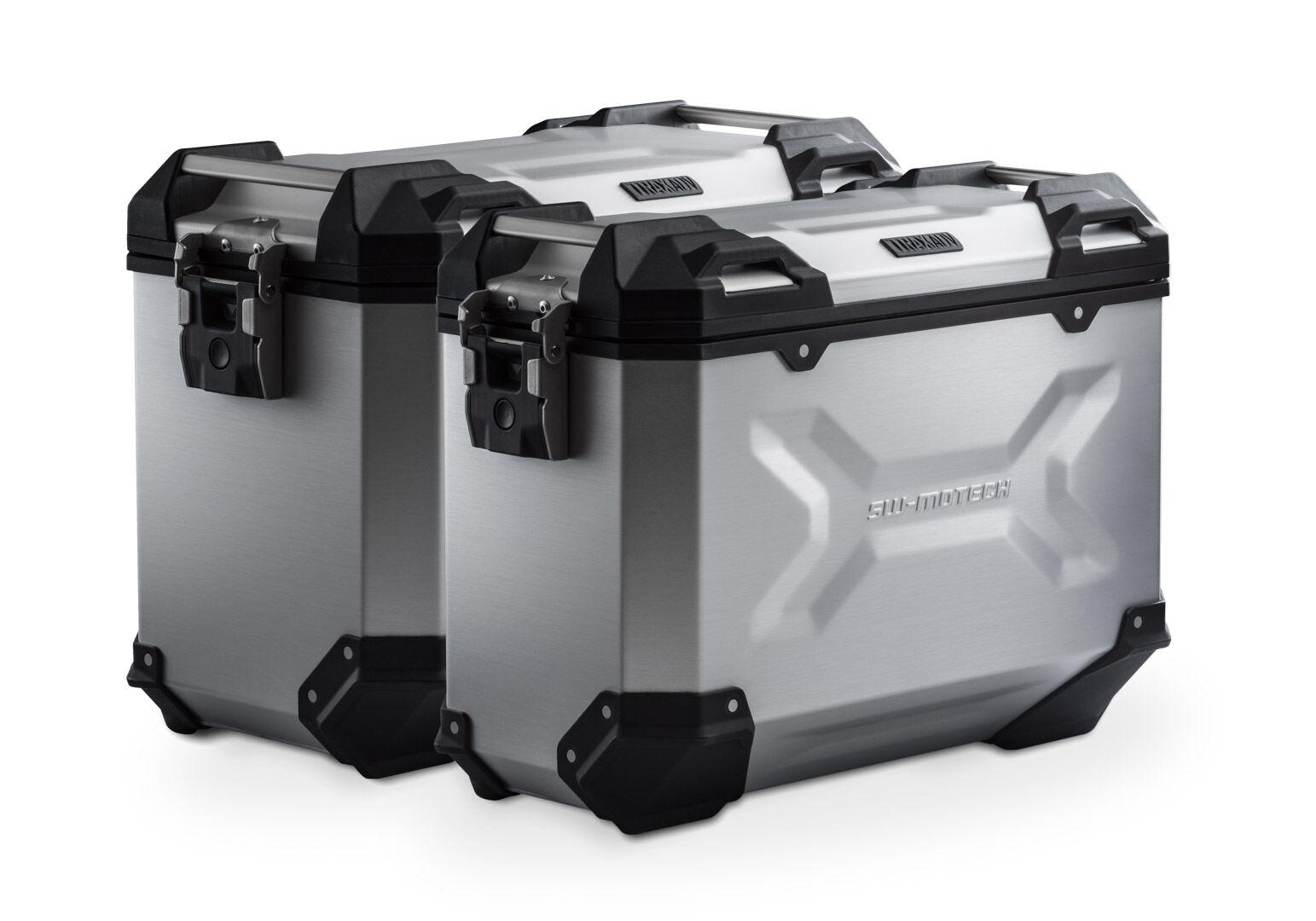 SW-Motech Sistema de maletas TRAX ADV - Plateado. 45/37 l. BMW F750GS, F850GS/Adv (17-).