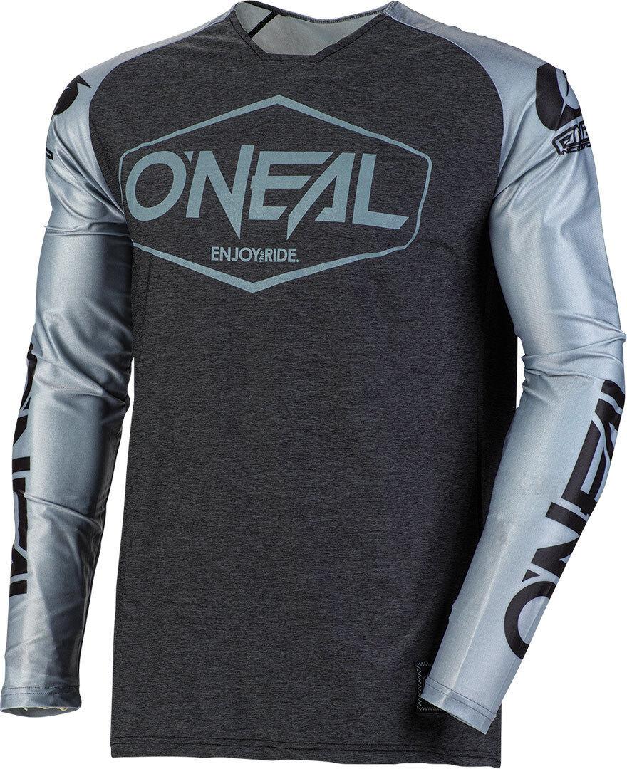 Oneal Mayhem Lite Hexx Camiseta de Motocross Negro Gris L