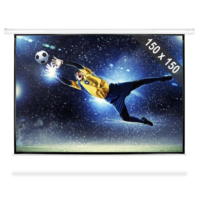 "FrontStage Pantalla de proyector con perfecta calidad HDTV 203cm 150x150cm 1:1 (PS-LUA-PSBB-80"")"