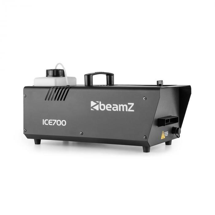 Beamz ICE700 máquina de niebla/hielo 700W 1200ml tanque negro (Sky-160.514)