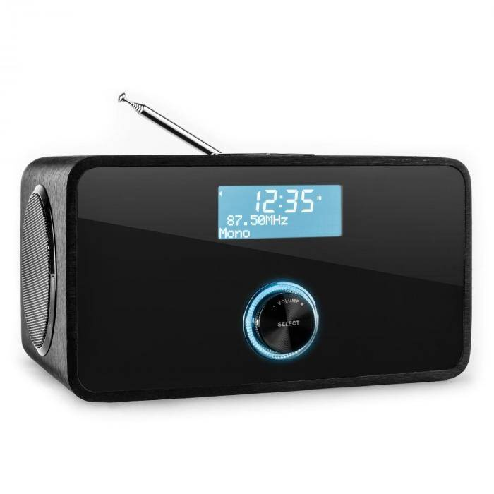 Auna DABStep DAB/DAB+ Radio digital bluetooth FM RDS Despertador