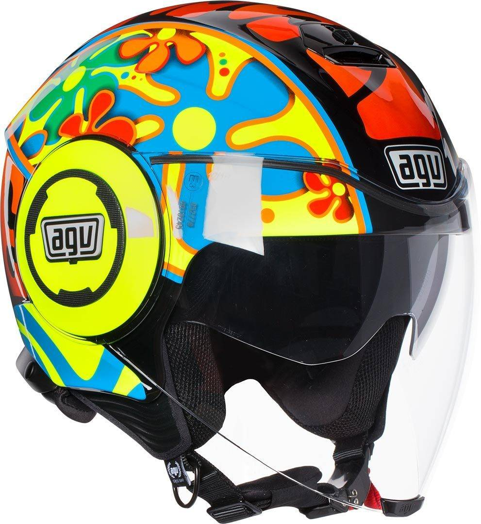 AGV City Fluid Valencia 2003 Casco Jet Amarillo XL