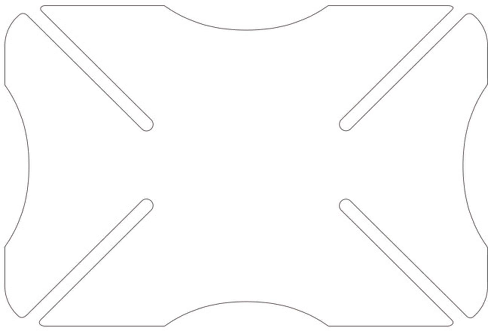 Oxford Transparent Parachoques del casco