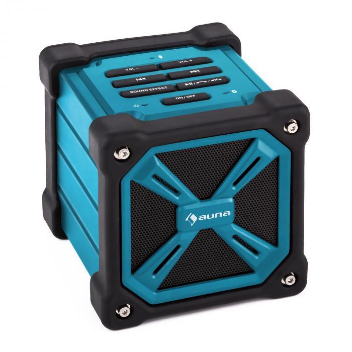 Auna TRK-861 Altavoz bluetooth portátil batería exterior azul