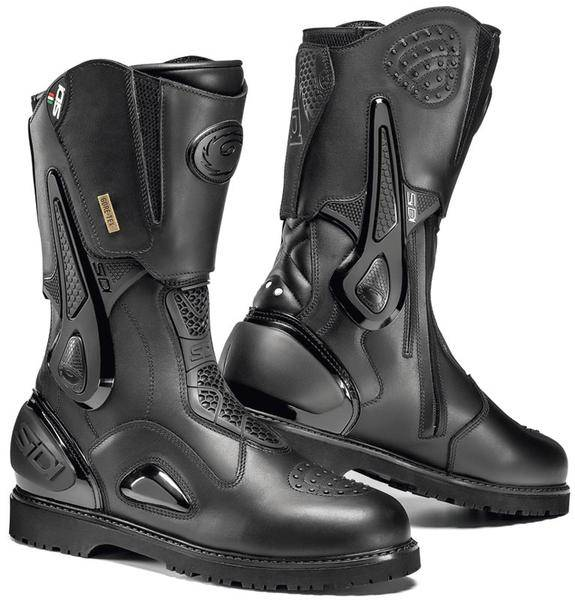 Sidi Armada Gore-Tex Crossover Motorcycle Boots Botas de moto Negro 45
