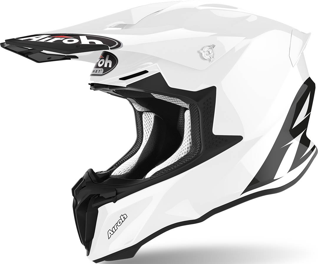 Airoh Twist 2.0 Color Casco de Motocross Blanco S