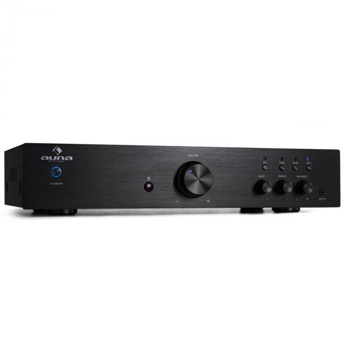 Auna AV2-CD508 Amplificador hifi estéreo 600W negro