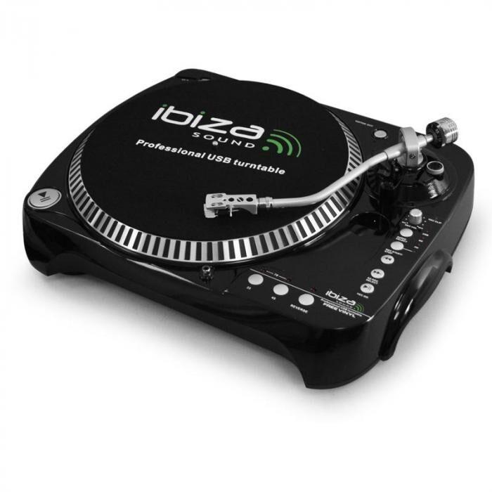 Ibiza Free Vinyl Tocadiscos USB SD grabación MP3
