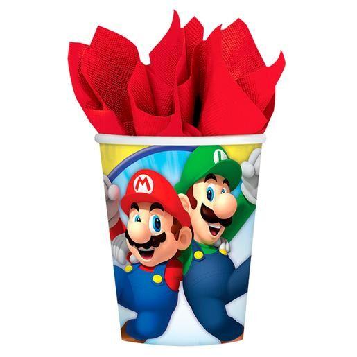 LIRAGRAM Super Mario - Pack 8 Vasos