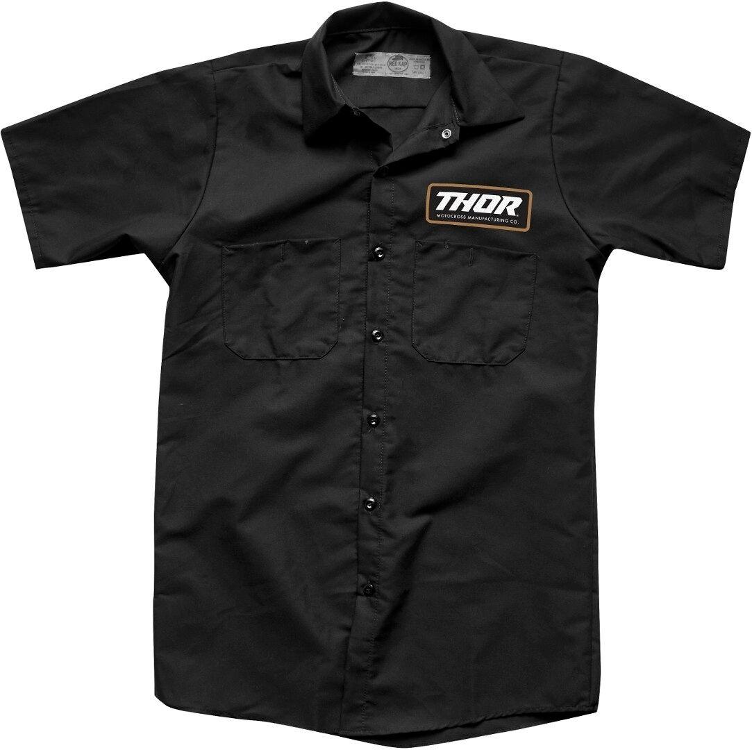 Thor Standard Camisa de trabajo Negro M
