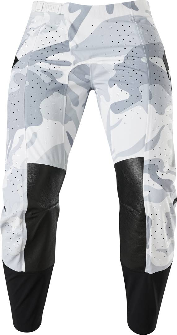 Shift 3Lue Label Snow Camo Pantalones de Motocross Negro Gris 36