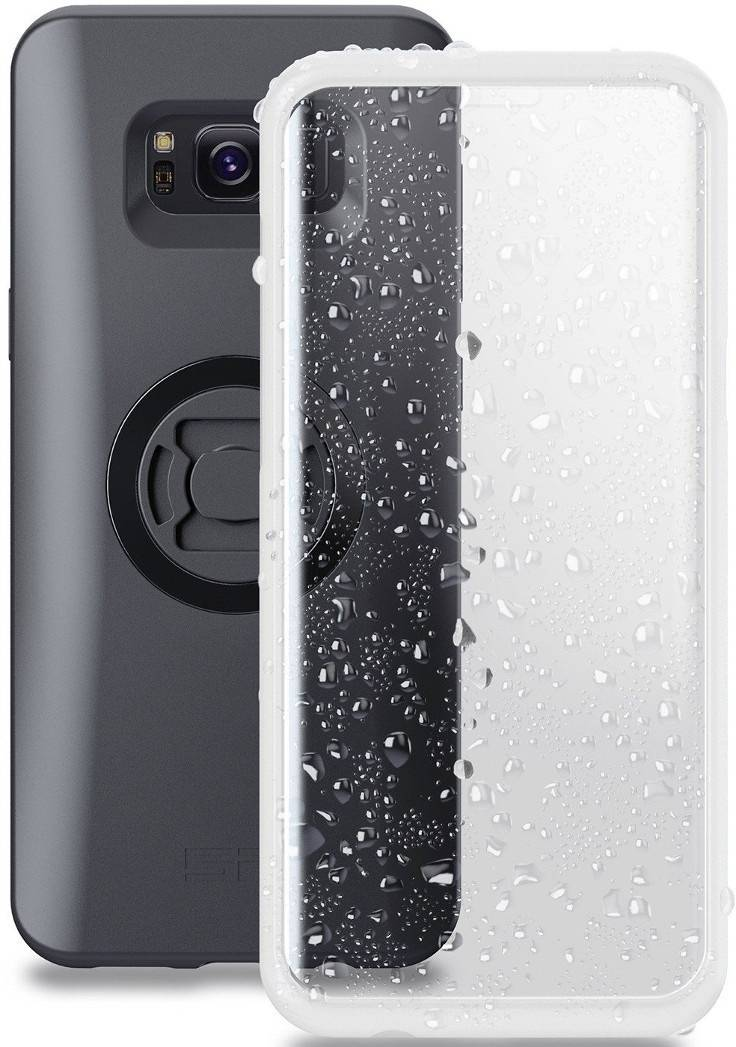 SP Connect Samsung Galaxy S8+/S9+ Cubierta meteorológica Blanco un tamaño