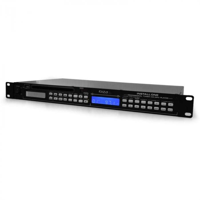 Ibiza Install One Controlador DJ reproductor USB-CD radio (BD-InstallOne)