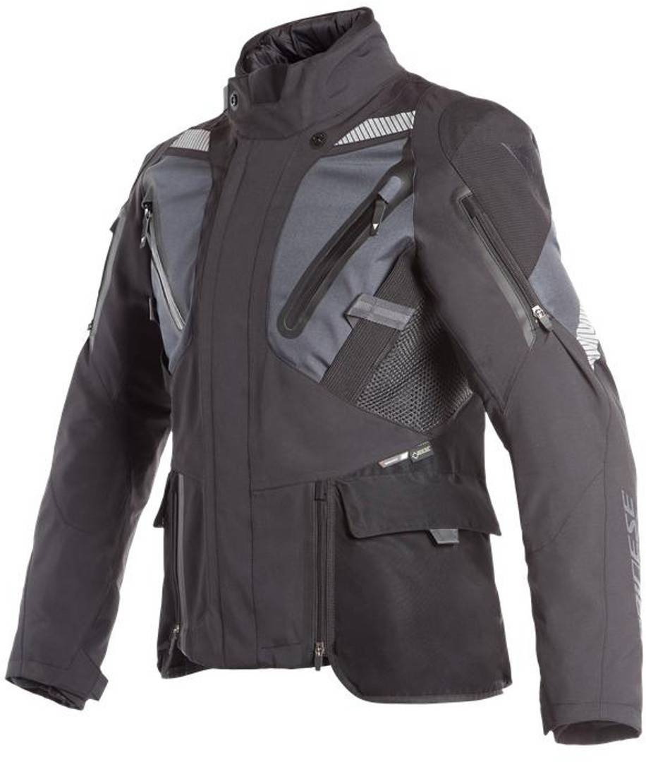 Dainese Gran Turismo GoreTex Chaqueta de moto textil Negro Azul 29
