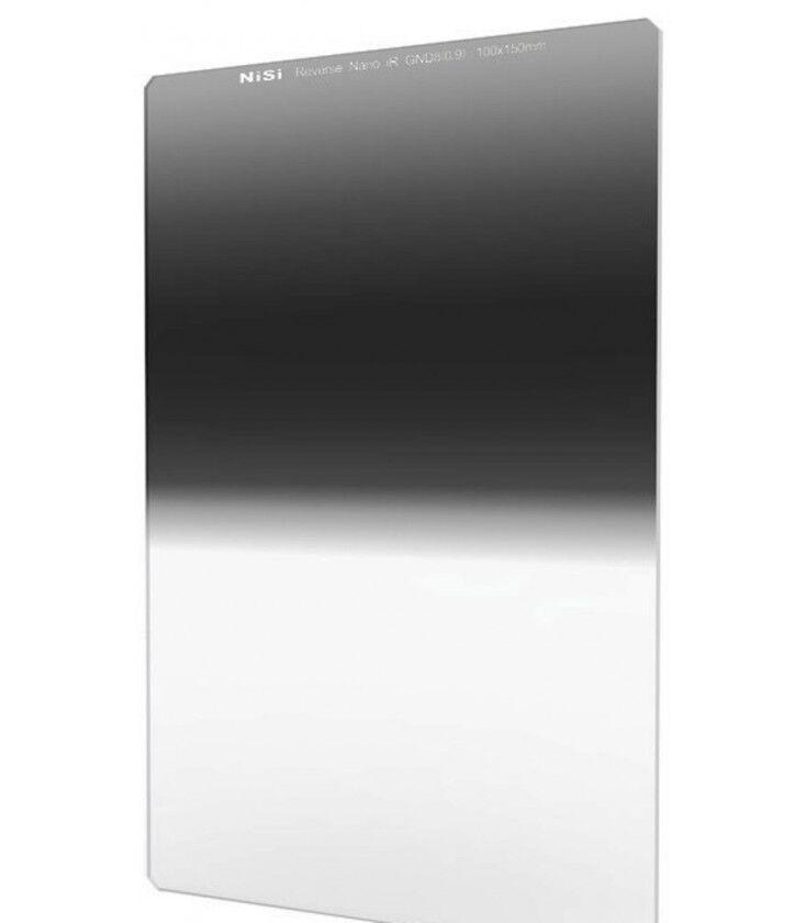 Nisi Filtro  100x150 Grad. Irnd . Inversa Nano Gnd 8 0.9 (3 A 0.5 Paradas)