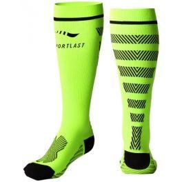 Sportlast by Medilast Sportlast Medilast Calcetines de Compresion Largos Pro Running Everest Amarillo-Negro Talla L