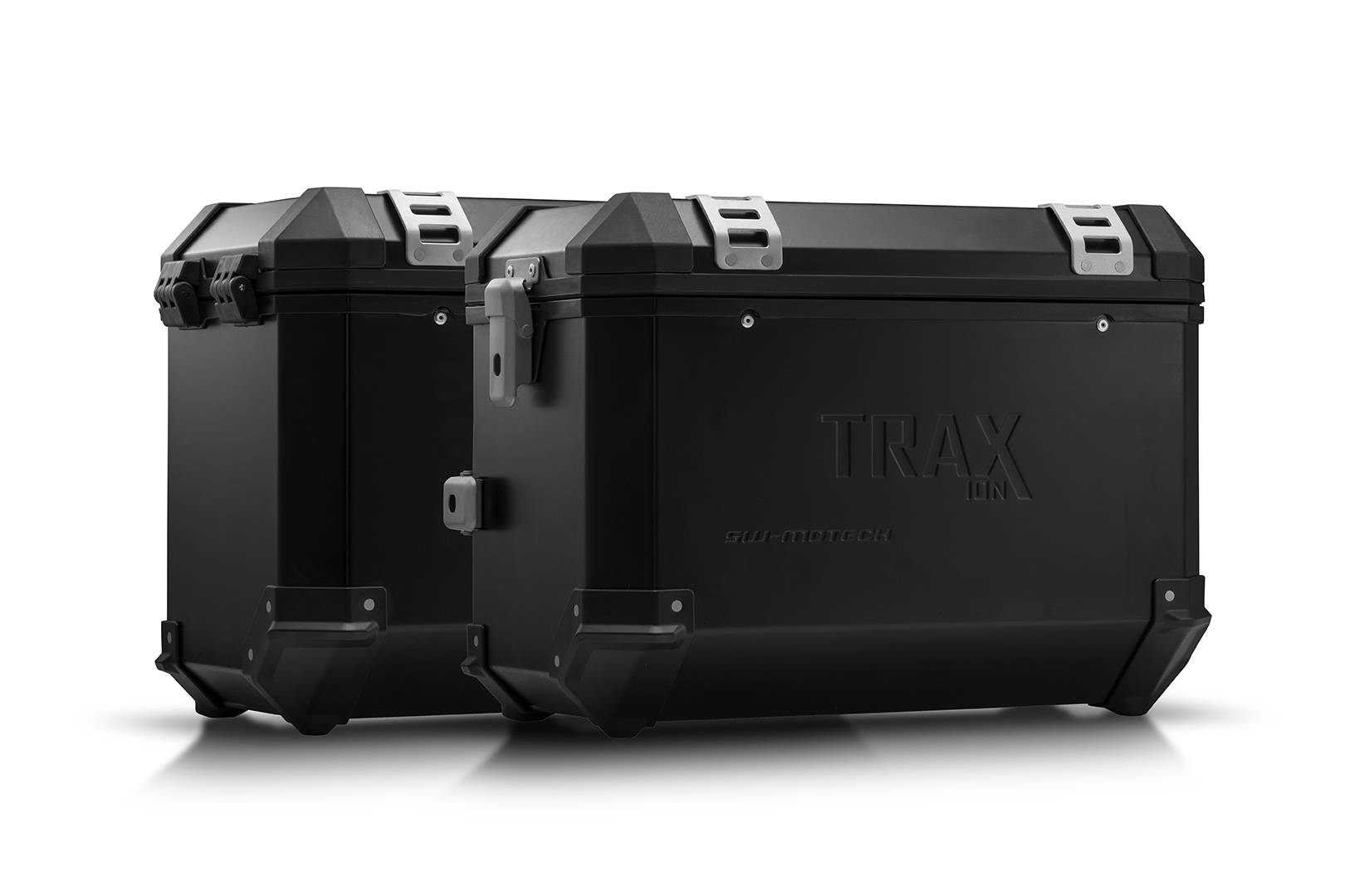 SW-Motech Sistema de maletas TRAX ION - Negro. 45/45 l. Suzuki DL 650 (17-).