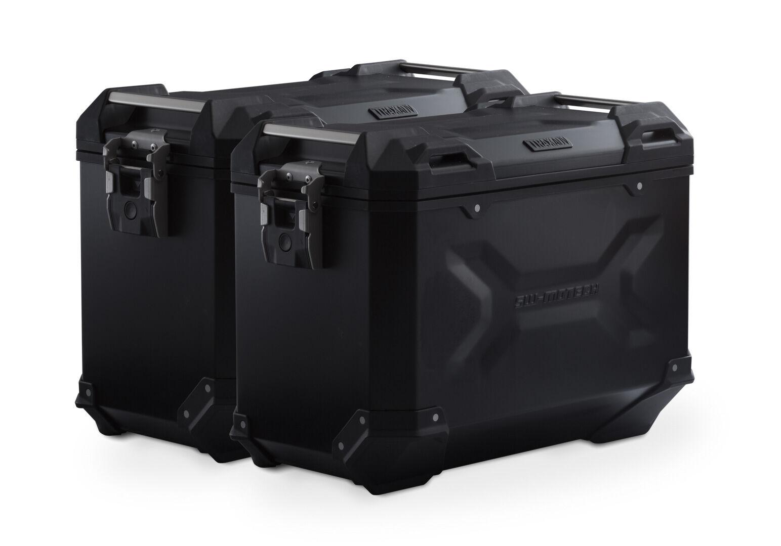 SW-Motech Sistema de maletas TRAX ADV - Negro. 45/45 l. Suzuki DL 650 (17-).