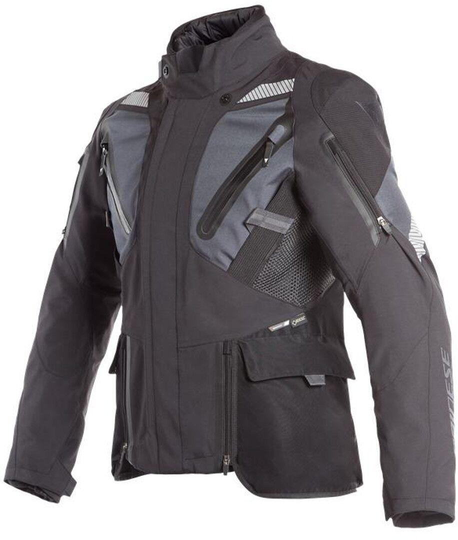 Dainese Gran Turismo GoreTex Chaqueta de moto textil Negro Azul 48