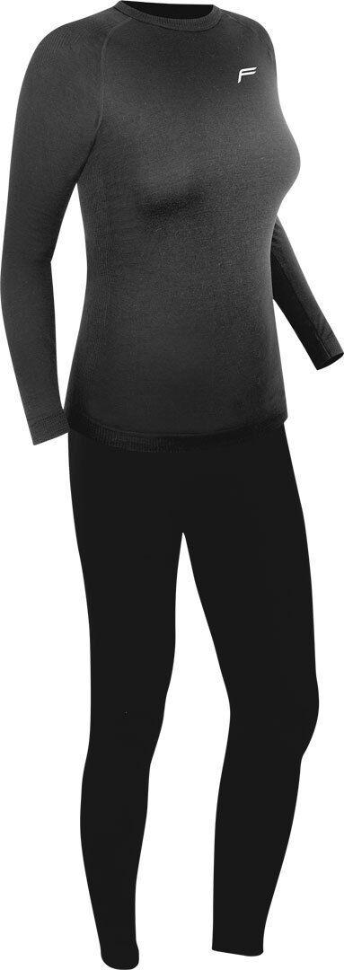 F-Lite Superlight Conjunto de ropa interior funcional de las señoras Negro L