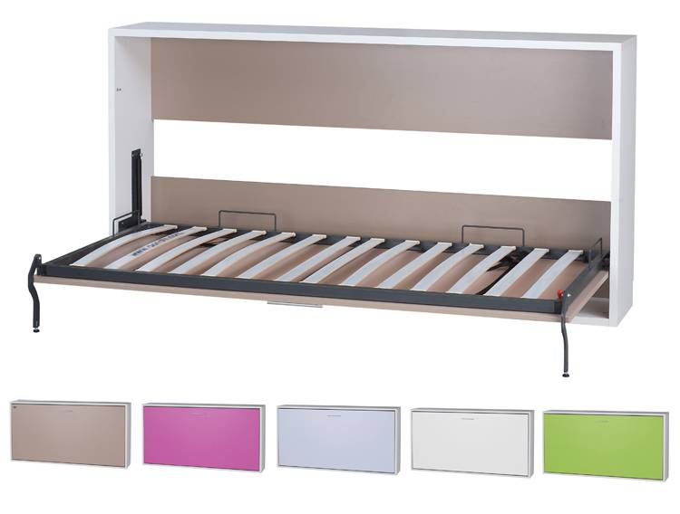Cama Abatible Horizontal Slim