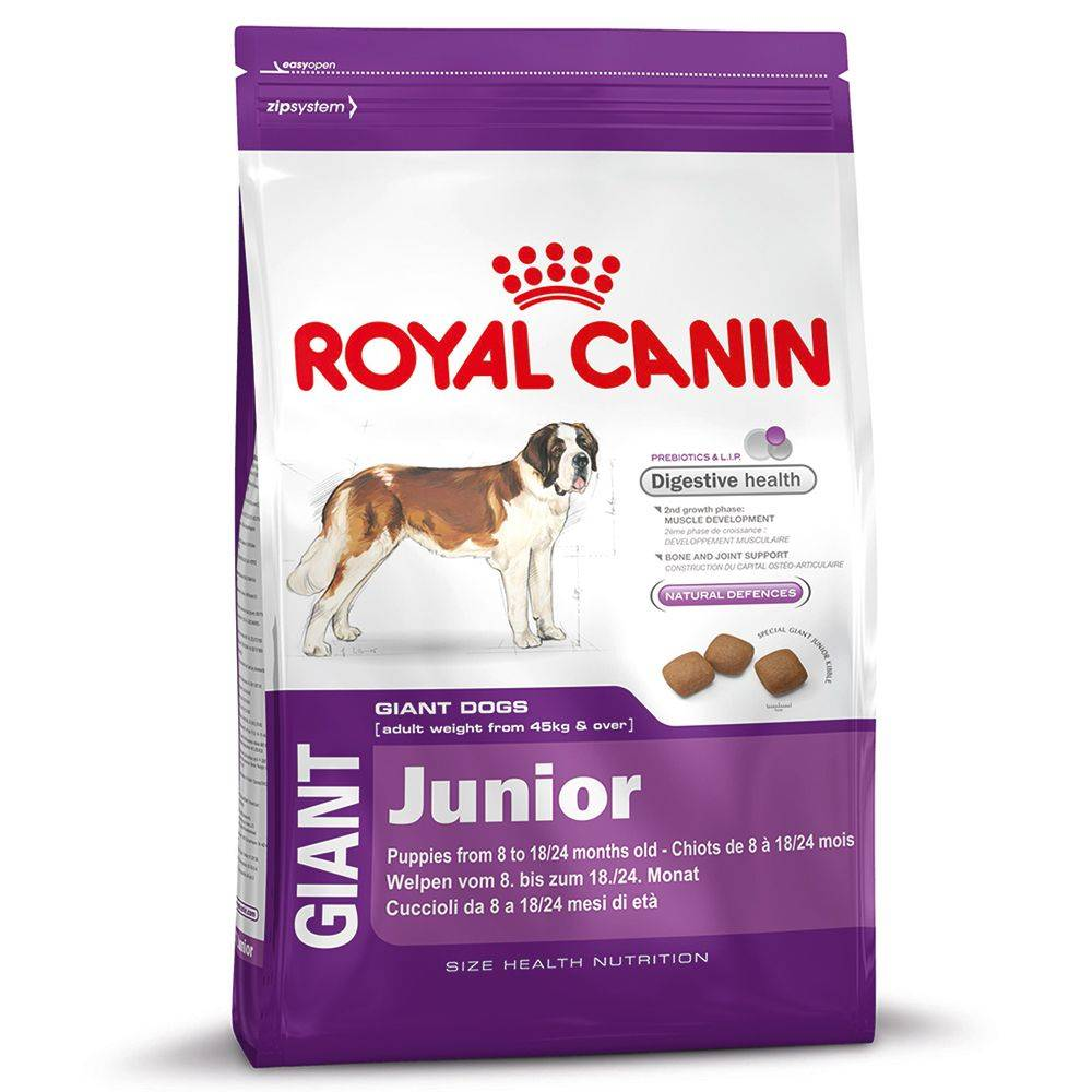 Royal Canin 15 + 3 kg gratis Giant Junior Royal Canin pienso para perros
