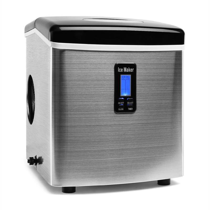 Klarstein Mr.Black-Frost Máquina de hielo 150 W negra 13kg (ICE4-MR.-BLACK-FROST)