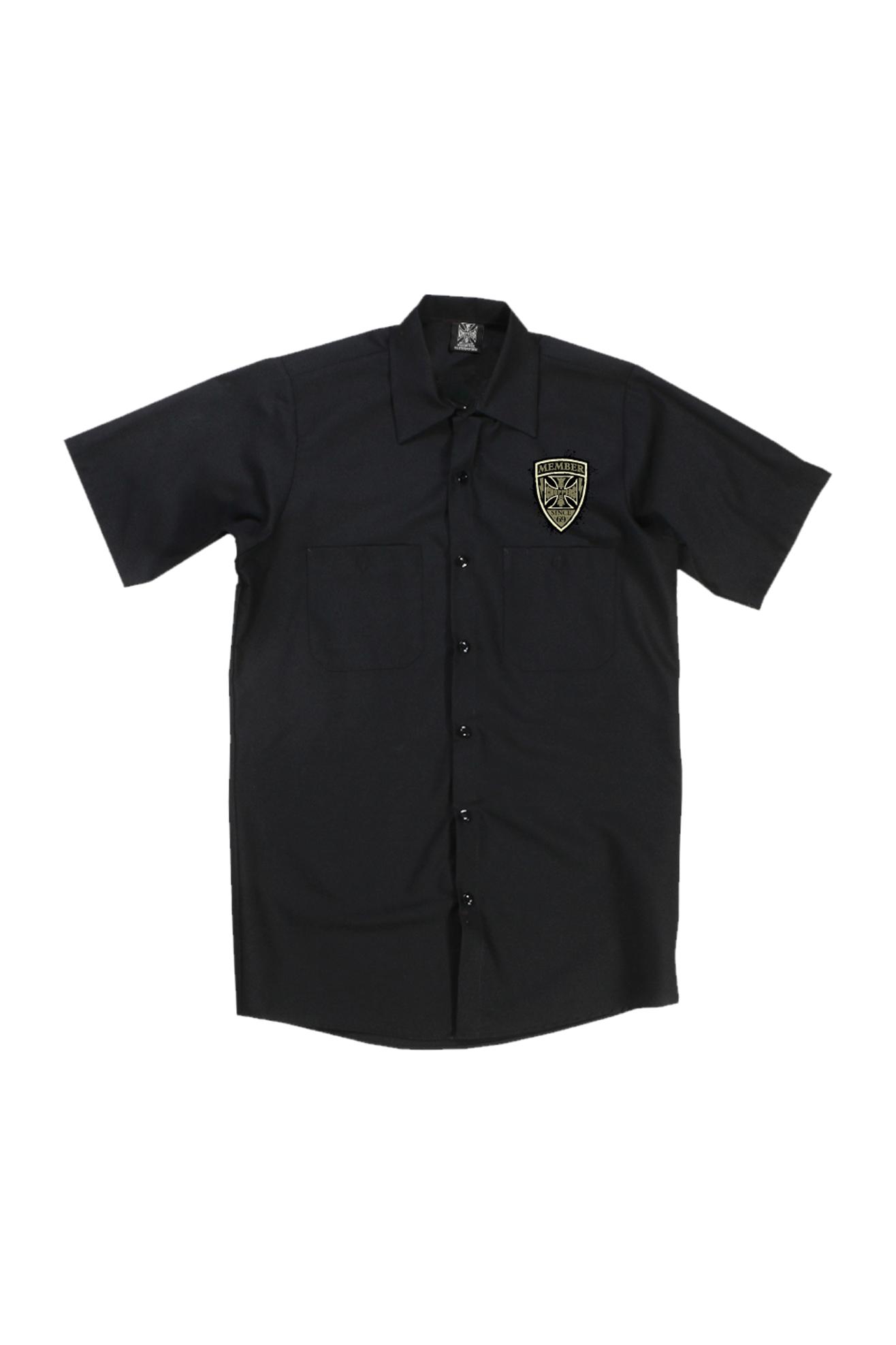 West Coast Choppers Camiseta de Trabajo  Hell Raisers Negra
