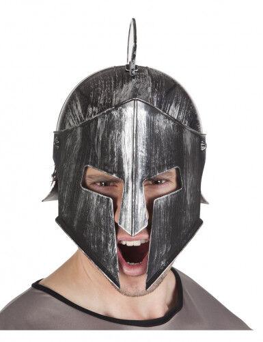 Casco caballero guerrero adulto Única