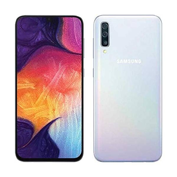 "Samsung Galaxy A50 SM-A505F 4+128GB de 6.4"" Blanco DS"