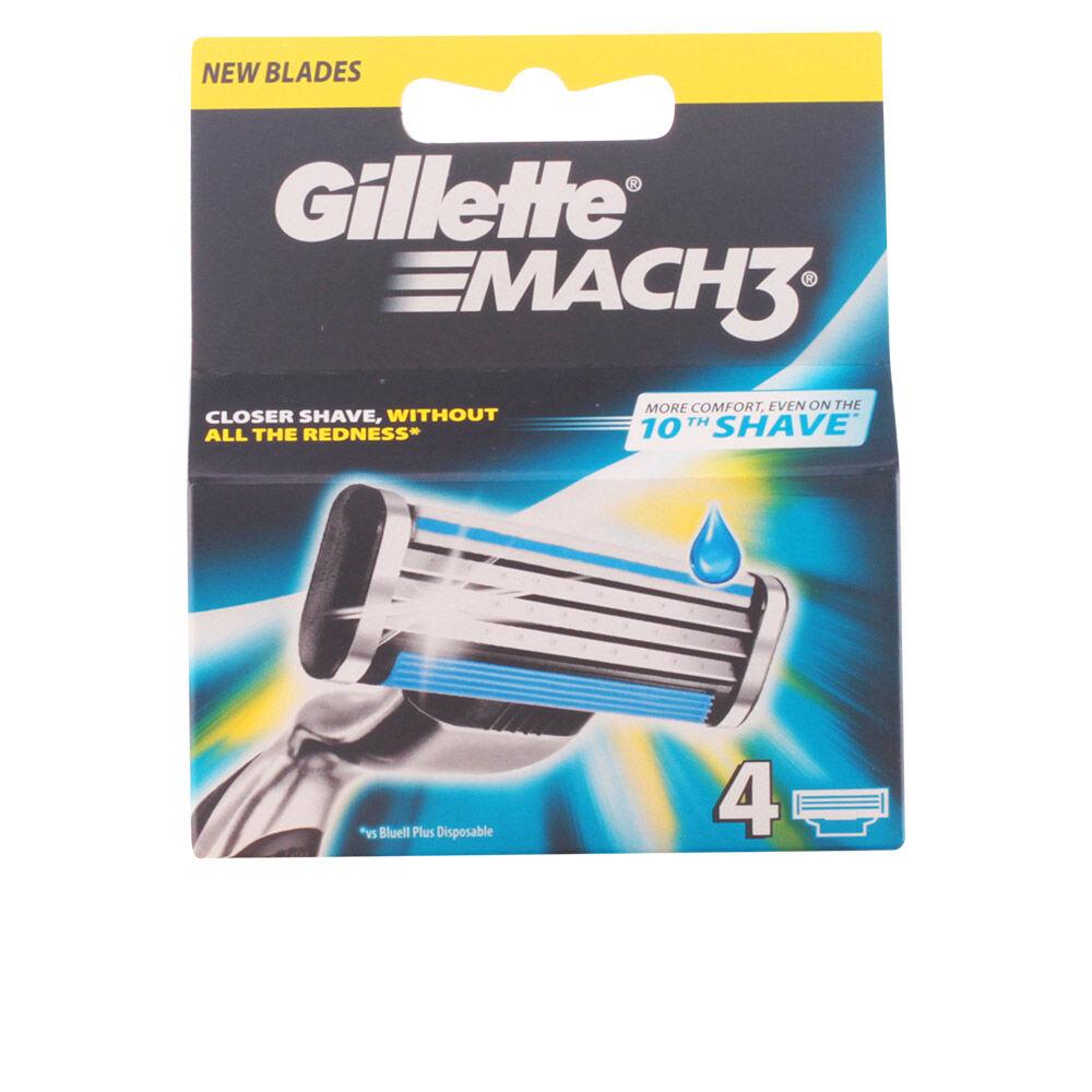 Gillette MACH 3 cargador 8 recambios 4 pz