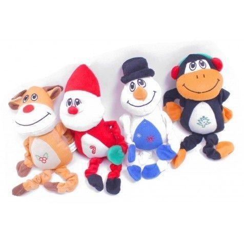 COMPLEMENTOS Juguete Peluche De Navidad Grande 28 X 12 Cm - Muñeco Nieve
