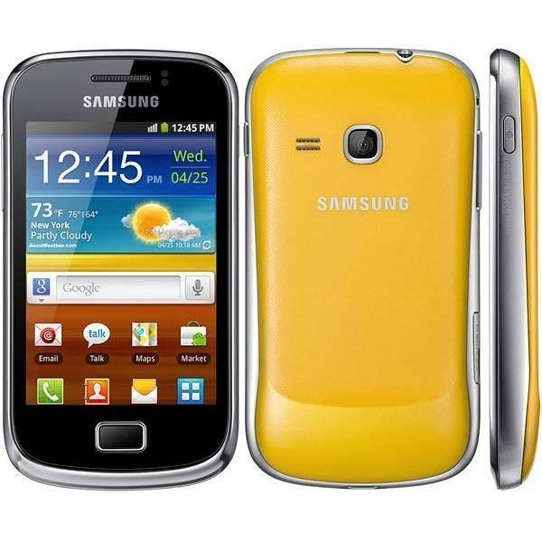 Samsung Galaxy Mini 2 4 GB  Amarillo Libre