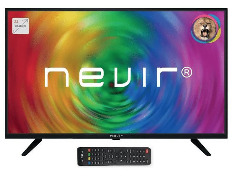 "NEVIR - TV LED 32"" -  NVR-7707-32RD2-N, 6 W, 24"", HD READY, Modo hotel, Clase A, Negro"