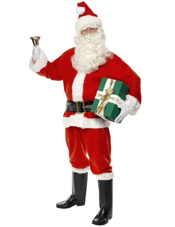 Vegaoo.es Disfraz de Papá Noel de lujo para hombre - M