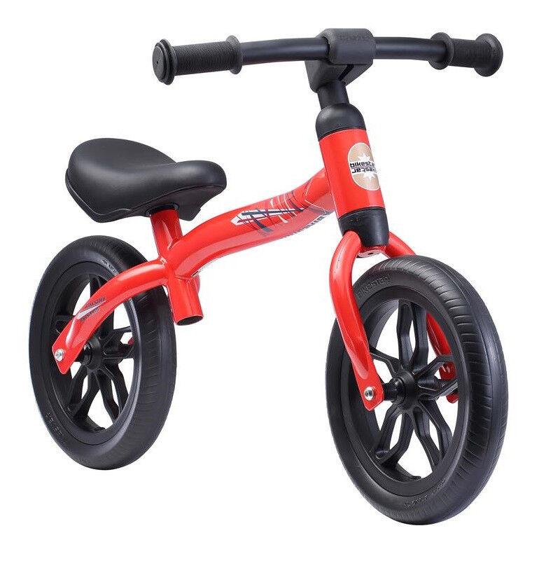 BIKESTAR Kids Balance Bike 2-in-1 Red à partir de 2 años - 10 pulgadas