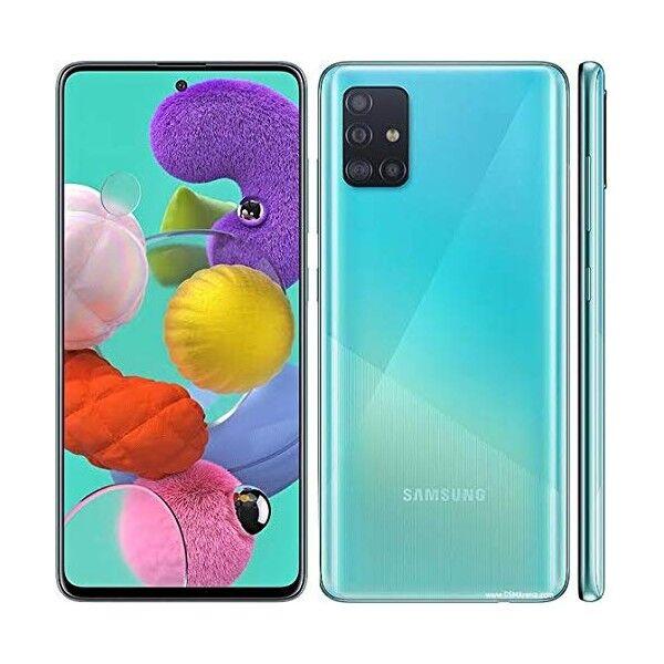 "Samsung Galaxy A51 SM-A515F 4+128GB de 6.5"" Prism Crusch Azul DS"