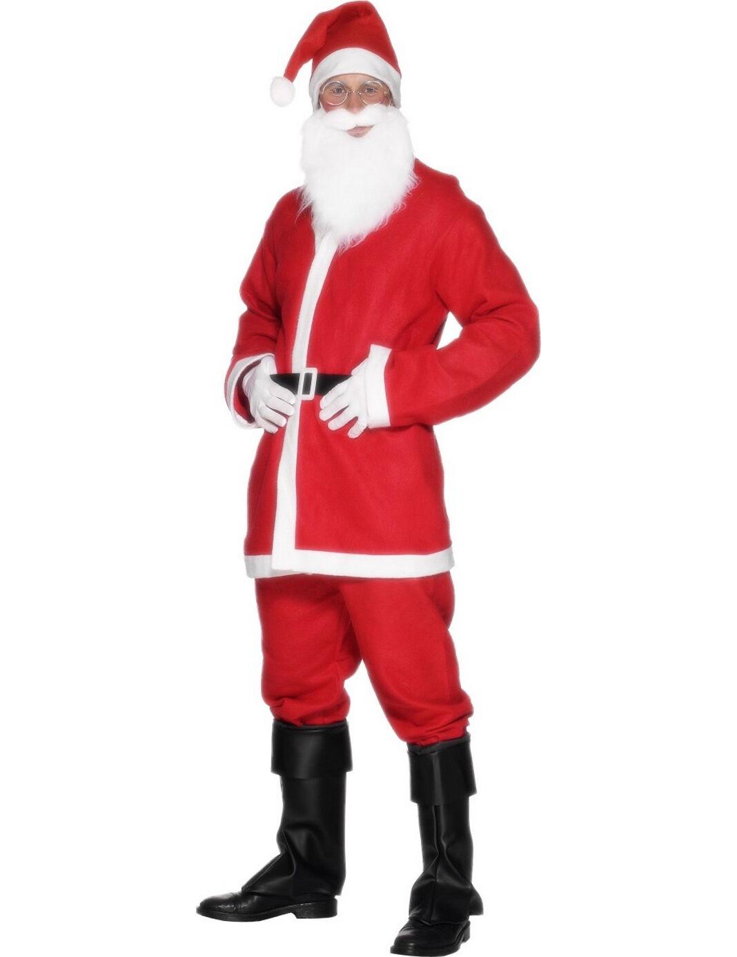 Vegaoo.es Disfraz Papa Noel con barba - M